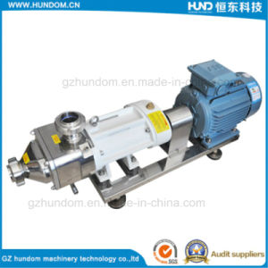 Stainless Steel Chocolate Transfer Pump Twin Screw Pump for Cosmetic pictures & photos