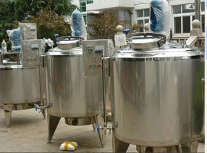 Electric Milk Boiler Heating Tank Jacketed Tank Jackete Tank pictures & photos