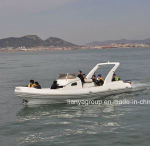 Liya 27feet China Cabin Rib Boat Hypalon Boats for Sale pictures & photos