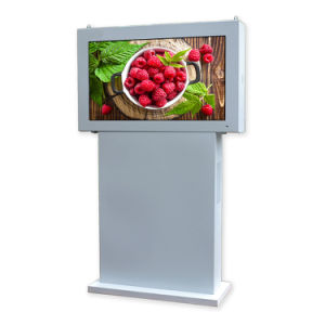 Customized Interactive Floor Standing Touch Digital Signage with High Brightness pictures & photos