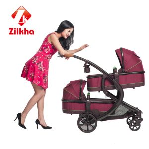 2017 Fashion Models Orange Twins Baby Carts of Good Quality, Cheap pictures & photos