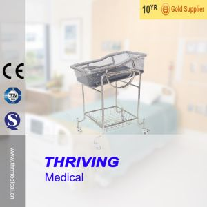 Stainless Steel Children Reclining Bassinet Bed (THR-RB002) pictures & photos