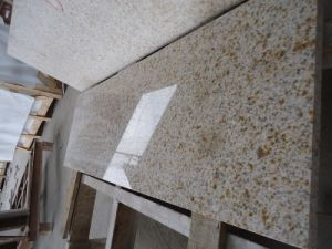 Competitive Price Ceramic Tile Shandong Yellow Granite Tile pictures & photos