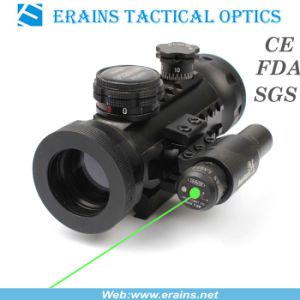 Compact Red and Green DOT Sight With Green Laser Sight (ES-RD-YH601+G) pictures & photos
