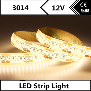Customized Available Warm White SMD3014 LED Strip with Ce pictures & photos