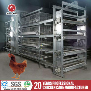 Best Price Chicken Broiler Cage for Poultry Fram Design (H4B208) pictures & photos