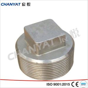 ASME B16.11 Stainless Steel Forged Fitting Plug A182 (F6, F429, F430) pictures & photos