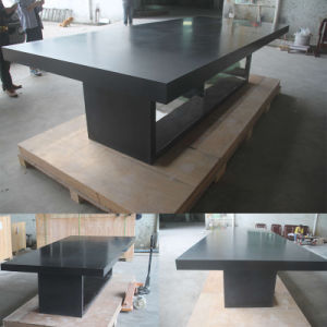 High End Artificial Quartz Stone White Square Design Modern Office Meeting Conference Table pictures & photos