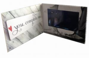 LCD Screen Video Company Invitation Card pictures & photos