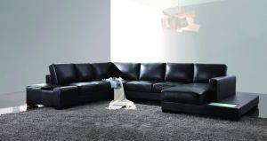 Modern Genuine Leather Sofa Set pictures & photos