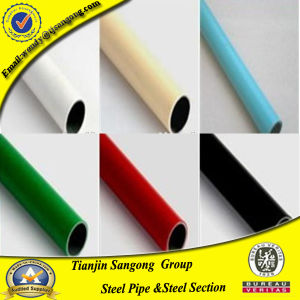 Plastic Coated Lean Steel Pipe for Automobile Production Line pictures & photos
