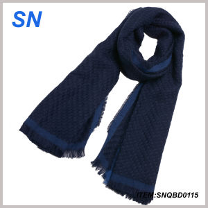 Cheap Price with High Quality Fashion Men Scarf Knitting pictures & photos