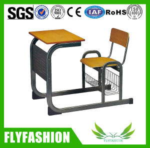 Classroom Furniture Single School Desk and Chair (SF-96S) pictures & photos