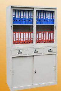 4-Door 3-Drawer Metal Office Storage Wardrobe Lockers pictures & photos