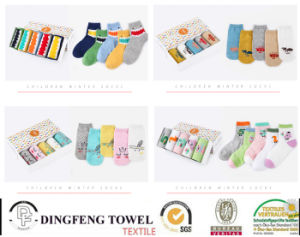 New Fashionable Knitted Children Socks Df-8840 pictures & photos