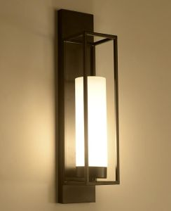Metal Glass Wall Lamp (WHW-088) pictures & photos