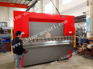 Hydraulic CNC Press Brake, Nc Plate Pressbrake Machine pictures & photos
