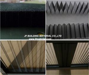 PP PE Pleated Window Screen Plisse Window Mesh pictures & photos