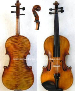 Concert Violin! Stradivari 1716 Messiah Model Violin (Dl160)