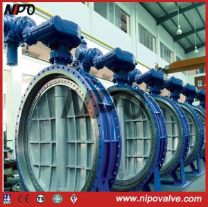 Flanged Bi-Direction Triple Eccentric Butterfly Valve pictures & photos