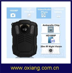 Police Body Worn WiFi Mini Camera with GPS with 3G/4G Car DVR pictures & photos