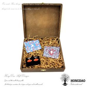Hongdao Wooden Tie Storage Box Design pictures & photos