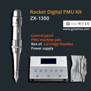 Cartridge Needle Digital Tattoo Permanent Makeup Machine pictures & photos