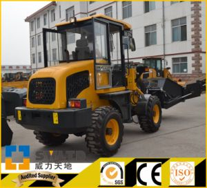 Manufacture 1.2 Ton CE Small Wheel Loader pictures & photos