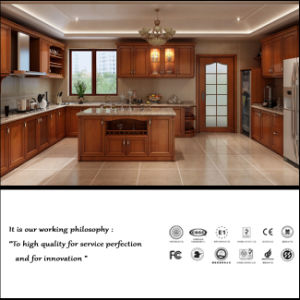 European Classical Style Kitchen Furniture (ZH6068) pictures & photos