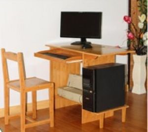 Bamboo Office Desk Office Furniture Working Desk pictures & photos