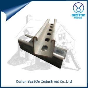 Galvanized Steel Strut U Channel with Slotted and Plain pictures & photos