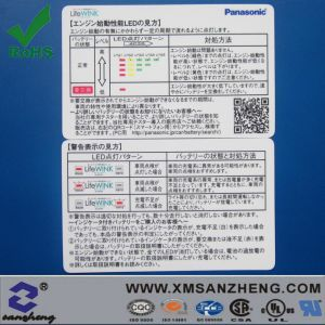 Double-Sided Printing Instruction Card pictures & photos