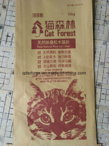 High Quality Plastic Packaging PP Woven Cat Litter Bag / Sack pictures & photos