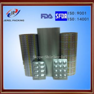 Cold Bottom Aluminum Film for Capsules Packaging pictures & photos