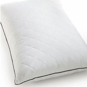 Polyester Filling White Quilting Standard Pillow