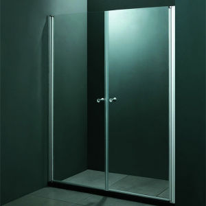 Hot Sale 2 Sliding Doors Tempered Glass Shower Door (SR9D015) pictures & photos