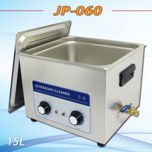 Mechanical Knob Control 15liter Ultrasound Cleaner Machine (JP-060) pictures & photos