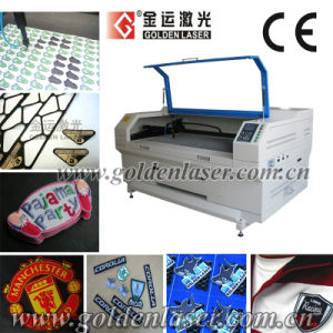 CCD Badge, Embroidery and Woven Label Laser Cutting Machine (ZDJG-9050)