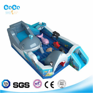 Cocowater Design Shark Theme Inflatable Slide/Bouncer LG9016 pictures & photos