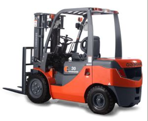 3.0t Diesel Forklift with Isuzu Engine pictures & photos