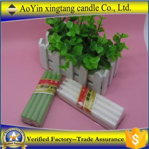 Aoyin Factory Supply 25g White Church Candles/ Cheap White Candles pictures & photos