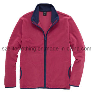 Warm Polar Fleece Jackets for Lady (ELTWJJ-16) pictures & photos