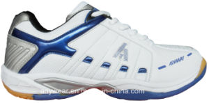 Tennis Shoes for Men′s and Women′s Badminton Court Footwear (815-9292) pictures & photos