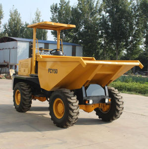 5000kgs Construction Transport Mini Site Dumper pictures & photos