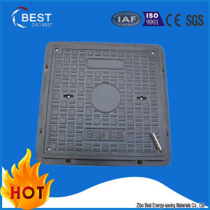SMC FRP Road Facilities Sewer Manhole Covers with Frame pictures & photos