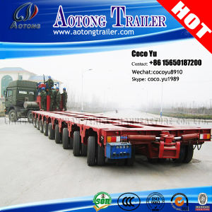 SMTP Steering Direction Lifting Platform Modular Transporter Trailer pictures & photos