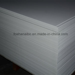 2015 White Solid High Quality Display PVC Foam Board HDPE Sheets pictures & photos