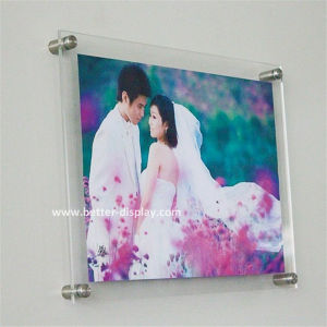 Wall Mount Acrylic Photo Frame for Weeding (BTR-U2008) pictures & photos