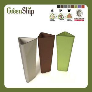 Modern Decorative Triangle Garden Planter Pot/Flower Pot