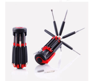 8 in 1 Multi Function Screwdriver with 6 LEDs Light pictures & photos